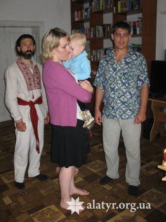 Обряд Имянаречение - проводит о. Твердислав