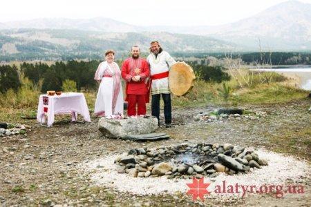 Родовое Огнище в Хакасии.